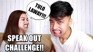 NAGLAWAY! SPEAK OUT CHALLENGE! (LAUGHTRIP) | KATHRYE