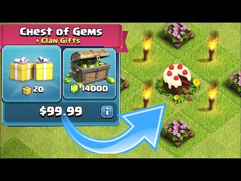 FREE GEM 25$ GIVEAWAY!!! | Clash of clans | Google play and itunes!!