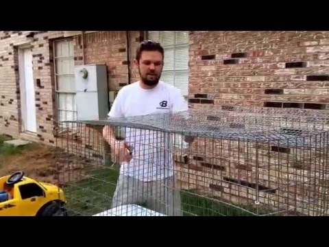 How to build a DIY Wire rabbit cage!