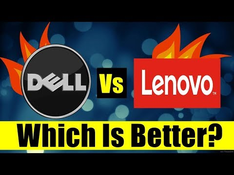 Dell vs Lenovo (Which is better, Ultimate Fight) Small detailed report 2018