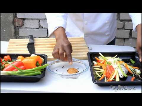 Jamaican Roast Fish On The Grill, | Recipes By Chef Ricardo