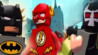 The Flash Vs SuperHero Batman The Park New Update | LEGO DC Super Heroes Mighty Micros