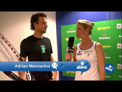 Adrian Mannarino Giant Racquet Challenge