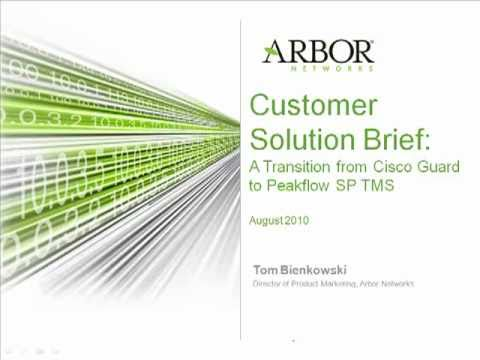Arbor Peakflow vs. Cisco Guard (DDoS Mitigation) | Arbor Networks