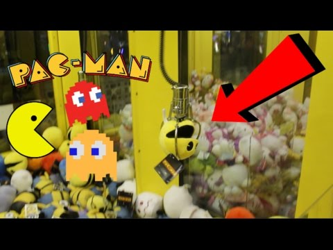 Easy Pac-Man Plush Claw Machine Wins! | JOYSTICK