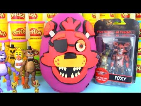 Five Nights at Freddy Huge Surprise Egg Foxy FNAF