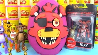 Five Nights at Freddy Huge Surprise Egg Foxy FNAF
