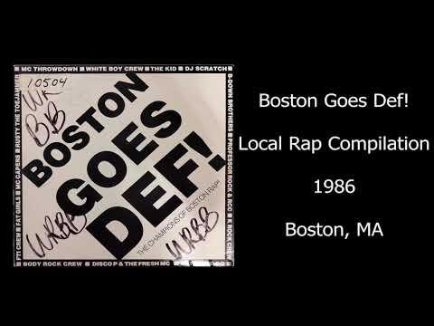Boston Goes Def! (Beautiful Sounds, 1986) Boston, MA Local Rap Compilation