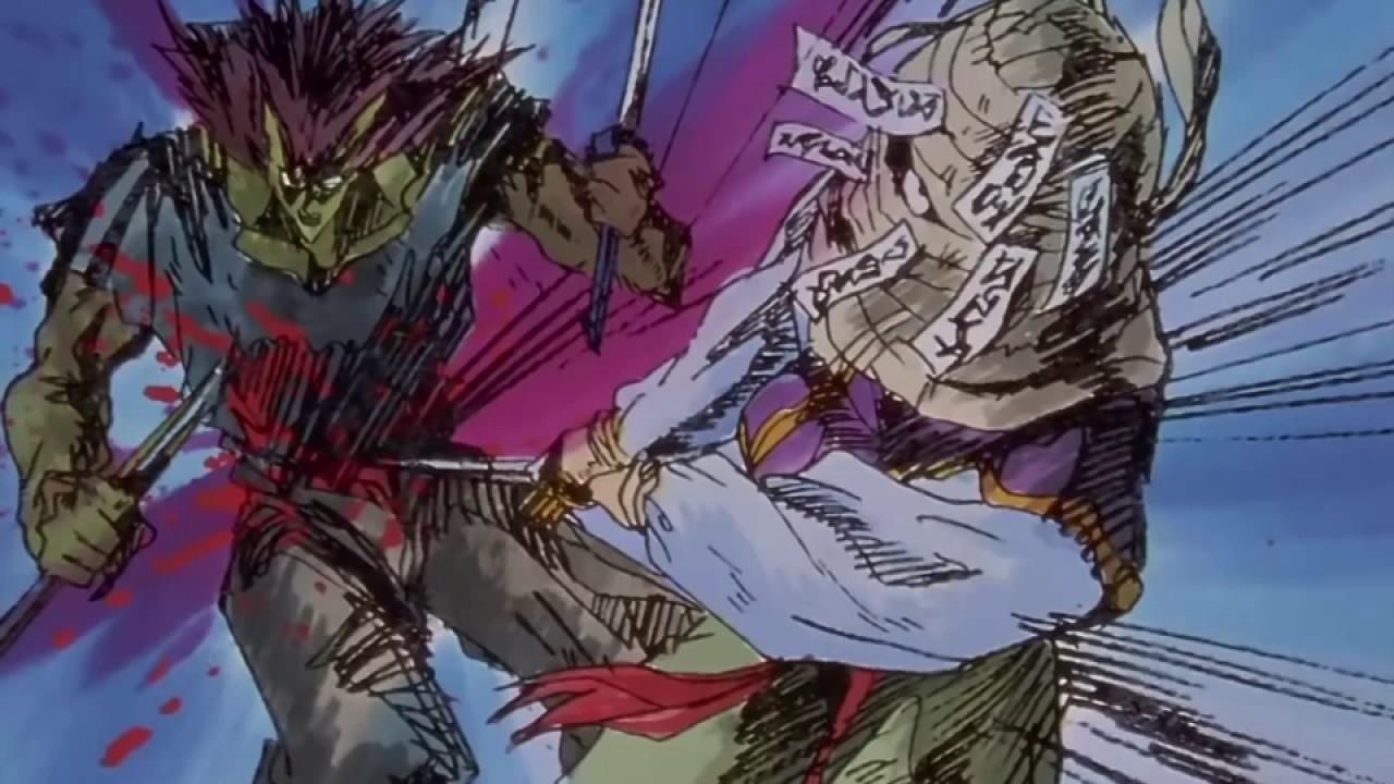 Yu Yu Hakusho episódio 109 - A luta entre Hiei e Mukuro ...