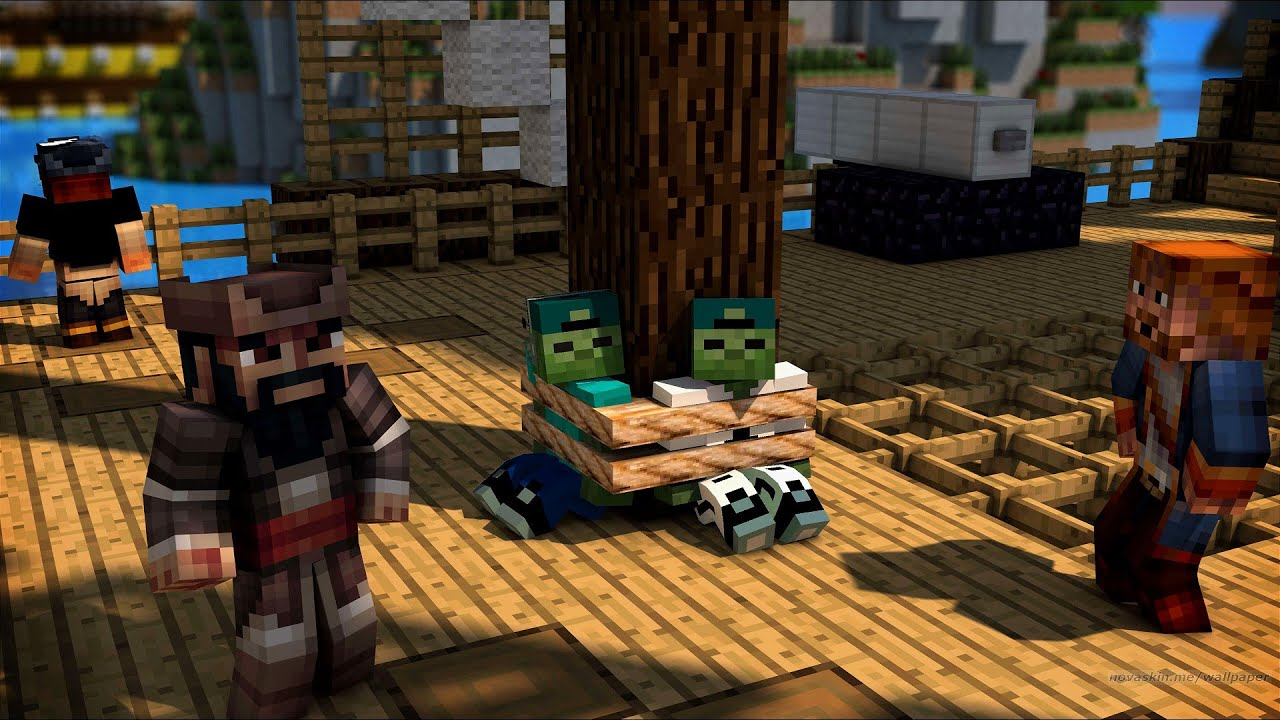 ZOMBIE MARK HELP THE PIRATES TO DESTROY THE ZOMBIE SQUAD !! 100% trolling
