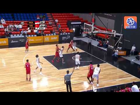 Full Game Highlight Basket Putra Sea Games 2017 Indonesia vs Vietnam