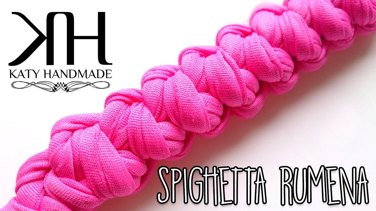 TUTORIAL SPIGHETTA RUMENA ROMANIAN BRAID uncinetto crochet
