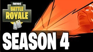 FORTNITE BATTLE ROYALE SEASON 4 !! NEW TEASER - New Leaked Details & More!