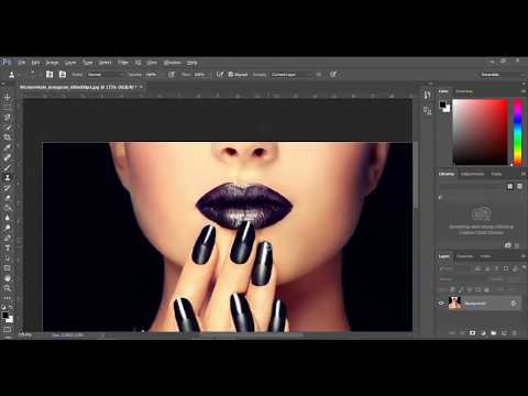 Extending Nails in Photoshop