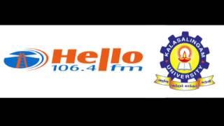 Kalasalingam University FIP Advertisment2 in Hello FM 106.4
