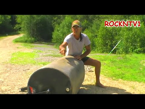 Lawn Roller Ohio Steel 920 lbs Beached Whale