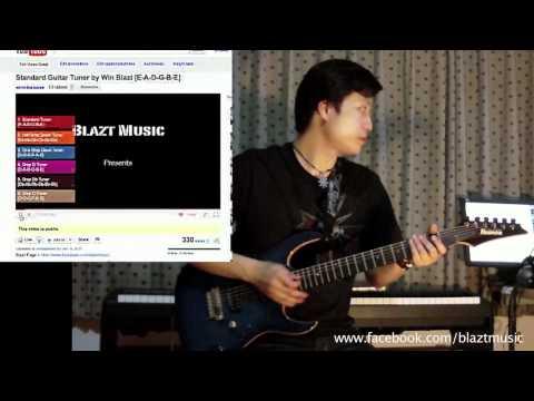 สอนการตั้งสายกีตาร์ (Guitar Tuning) by WHIN