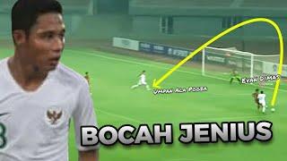 Inilah Mengapa Timnas Indonesia Butuh Evan Dimas • Evan Dimas Amazing Passing  & Control The Game