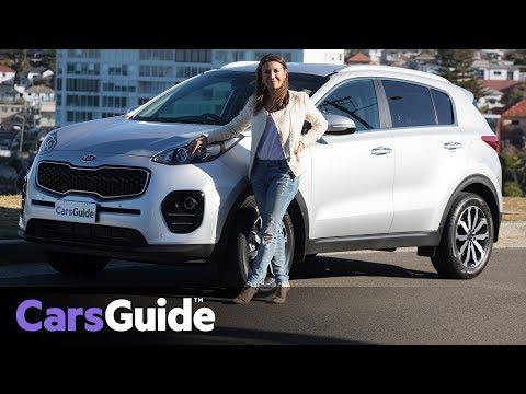 Kia Sportage SLi 2017 review: family test video - Dauer: 4 Minuten, 54 Sekunden