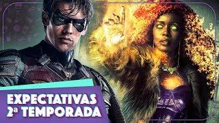 O QUE VAI ACONTECER NA 2ª TEMPORADA DE TITÃS? (Titans, Netflix 2019)    Vic View