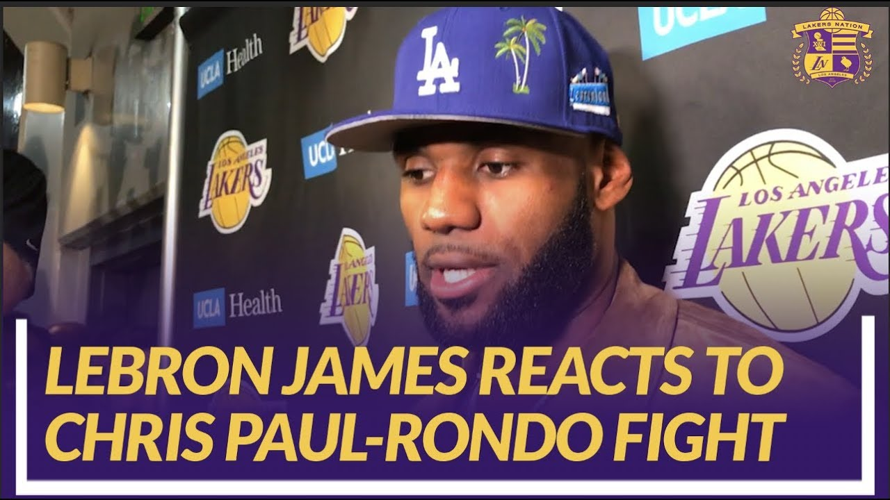 b341388dbc8 Lakers Nation Interview: LeBron James Reacts to Chris Paul-Rajon ...