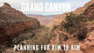 How to hike the Grand Canyon from rim to rim - national park lodging, shuttles, trails & permits