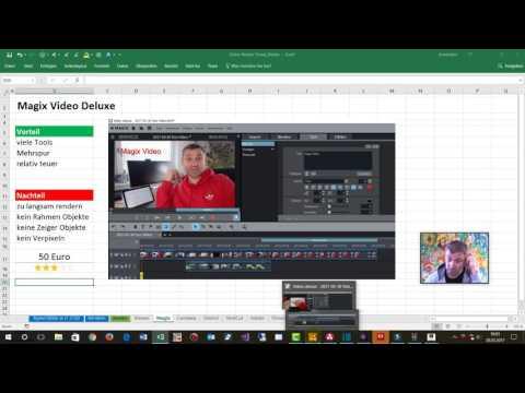 Top 9: Video Editor Software 2017 Windows 10 im Vergleich für YouTube Videos