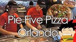 Pie Five Pizza - Orlando UCF - Pizza in Five Minutes!