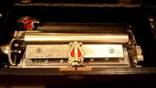 CUENDET 19世紀アンティークオルゴール 78弁8曲