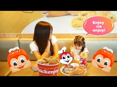 24 HOURS EATING 'JOLLIBEE FOODS' CHALLENGE