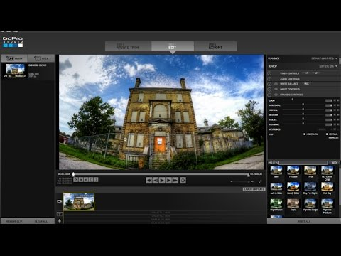 How to Add Motion to a Timelapse in GoPro Studio