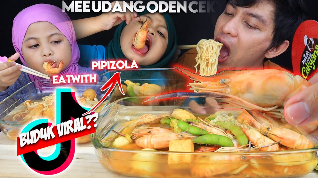 """BUD4K COMEL MUKBANG dengan ayah JADI VIRAL DI TIKTOK"", eat with PIPIZOLA   Mukbang Malaysia"