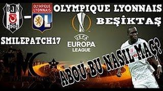 Uefa Avrupa Ligi Beşiktaş-Lyon çeyrek Final Maçı