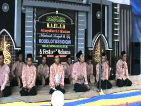 Sholawat Rebana Nurussa'adah ( Ya 'Asiqol Musthofa )