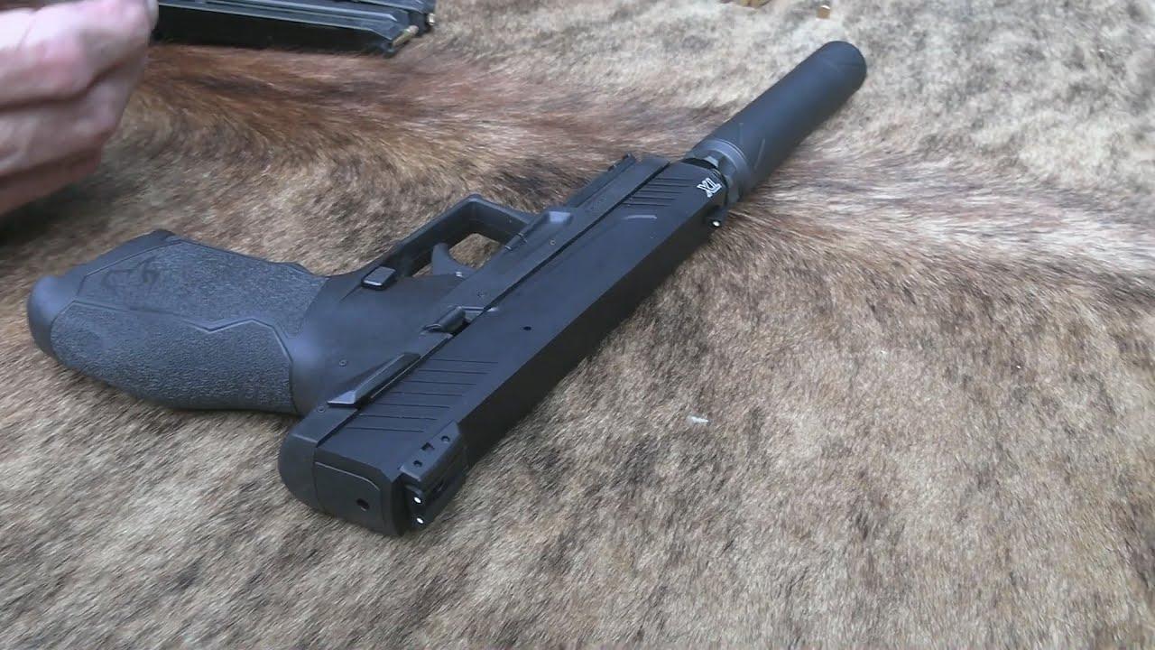 Taurus TX22 Suppressed