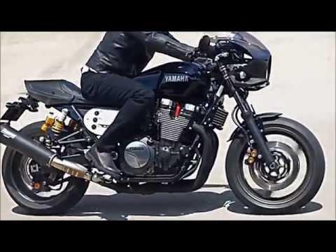 """2015 Yamaha XJR1300 Racer on 17"""" 1,251 cc 16v 98 hp 100 Nm"""