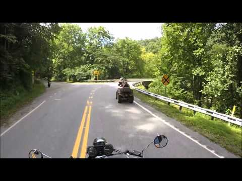 Highlights of a ride on Devil's Triangle Highway 116!