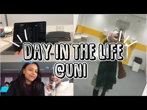 A DAY IN THE LIFE AT UNI - University Of Manchester