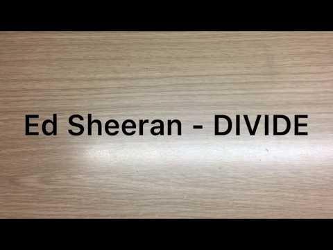 Ed Sheeran - DIVIDE Deluxe (Unboxing)