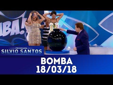 Gincana da Bomba | Programa Silvio Santos (18/03/18)