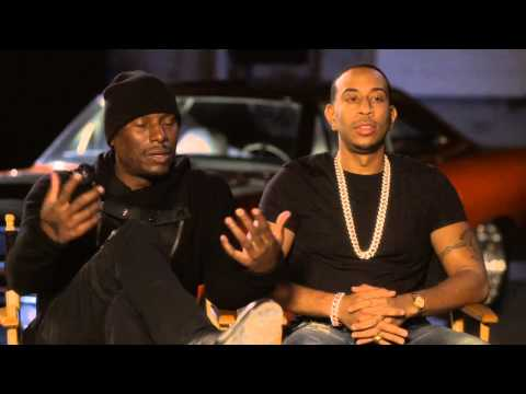 Furious 7: Ludacris and Tyrese Gibson Exclusive Interview Part 1