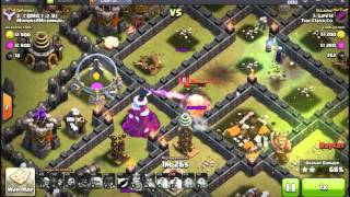 Clash Of Clans/ TH9 GOHOWIWI 3 stars / War Attack Last Update