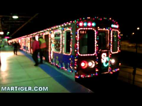 CTA HOLIDAY TRAIN 2009 - YouTube