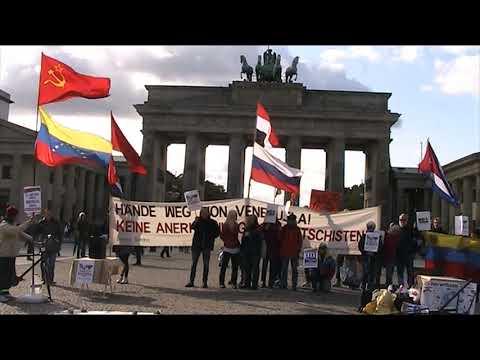 Solidarität mit Venezuela in Berlin 5.10.19 #HaendewegvonVenezuela #NoMoreTrump #NoMasTrump