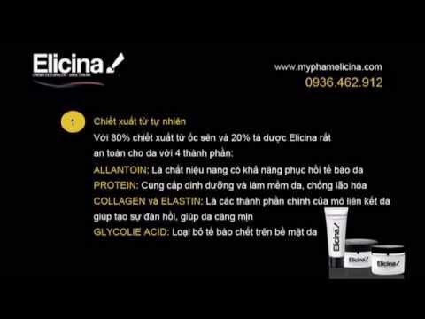 Kem ốc sên Elicina, Mỹ phẩm ốc sên Elicina Chile - myphamelicina.com