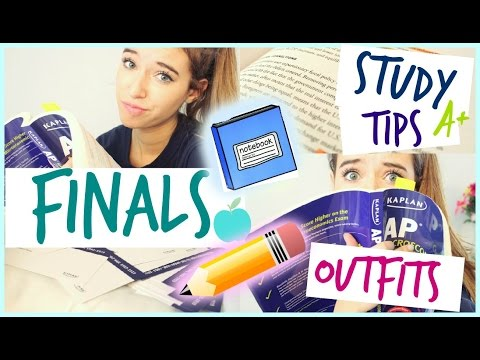 Survive School Finals!: Study Tips, Motivation, and Outfits!