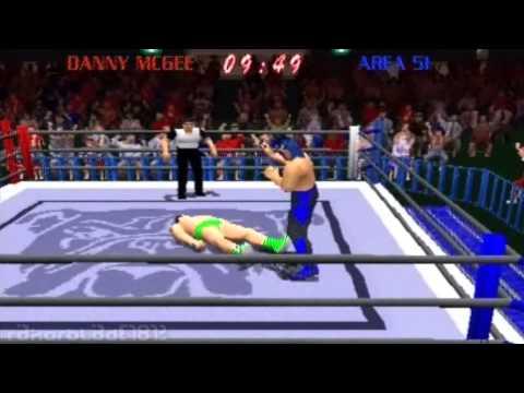 PS1 - Power Move Pro Wrestling - Tournament Longplay
