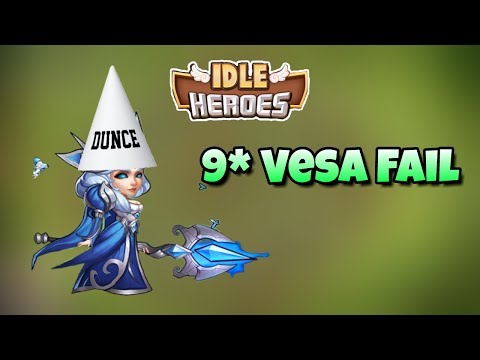 Idle Heroes - Official - 9 Star Vesa Fusion - I Hate Myself