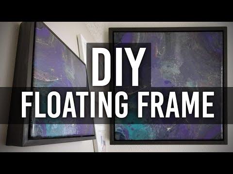 How to Make a Floating Frame : DIY