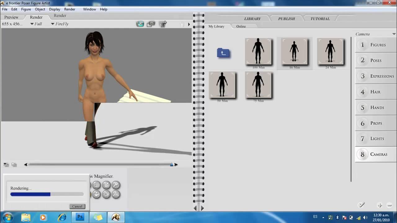 Programa para dibujar parte 2 youtube for Programa para hacer habitaciones en 3d